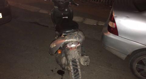 اصابة طفل فحماوي بجراح اثر دهسه من دراجة ناريّة