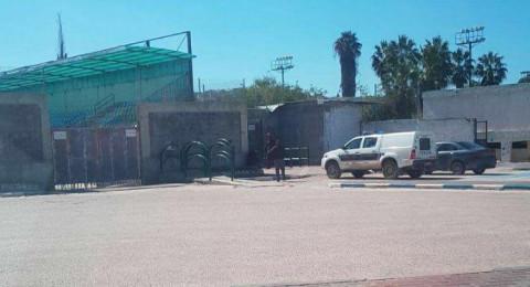 الشرطة تغلق ملعب باقة... الناطق بلسان هـ.ام الفحم: لم يحدّد موعد بعد