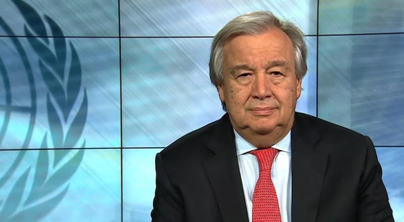 غوتيريش بخصوص أحداث الغوطة الشرقية: حان الوقت لوقف هذا الجحيم على الأرض