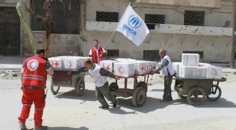 الأمم المتحدة: 45 شاحنة مساعدات جاهزة للتوجه إلى الغوطة الشرقية
