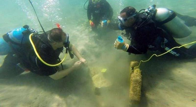 الأردن: اكتشاف أنقاض ميناء غارق في البحر الأحمر