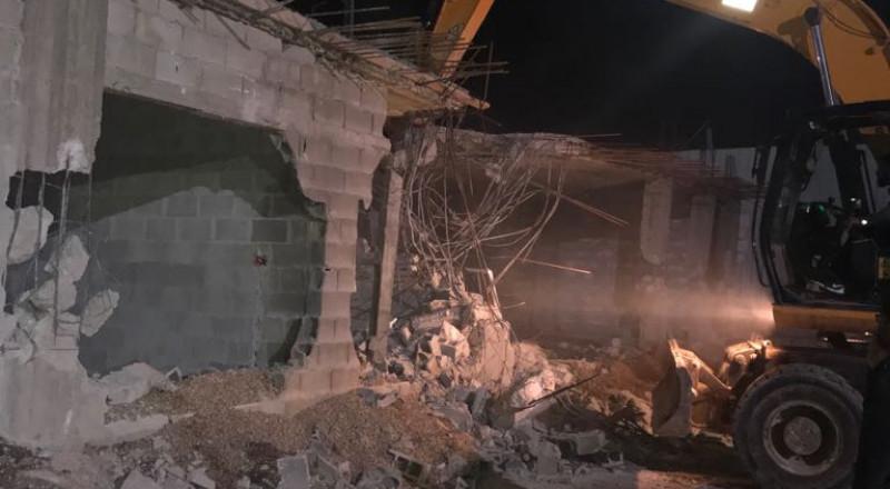 بلدية القدس تجبر مقدسيا على هدم منزله ذاتيا في