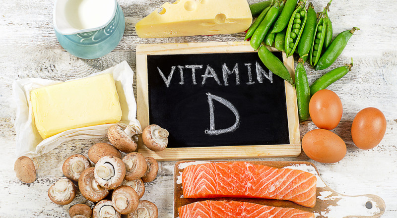 اطعمة تحتوي على فيتامين دي