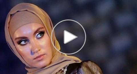 سيدة الشيشان الأولى تطلق فساتين سهرة إسلامية في دبي