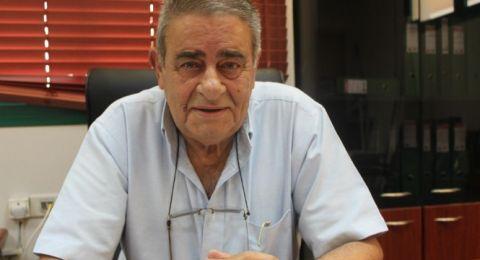 بلدية الناصرة تنعي بوفاة المرحوم صالح سليمان رئيس مجلس البعينة نجيدات