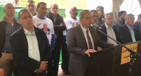 البعينة: جماهير غفيرة تشيع جثمان صالح سليمان إلى مثواه الأخير