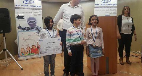 فوز الطلاب: امينة نصار - شادن دحلة - صالح خيرالله بمسابقة