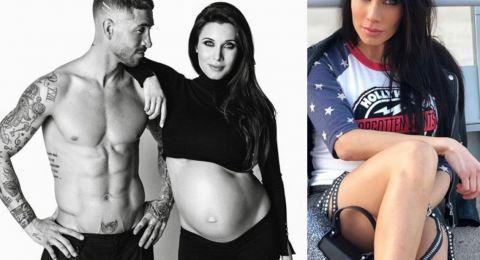 شاهدوا الصورة الأولى لِزوجة راموس بعد الولادة مع طفلها!