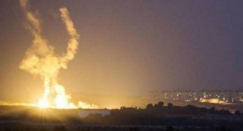 إسرائيل تقصف موقعًا للمقاومة شمال رفح