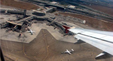 إصطدام بين طائرتين في مطار بن غوريون - اللد