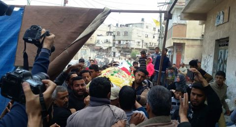 غزة تُشيع شهداء يوم الأرض ومسيرة العودة الكبرى