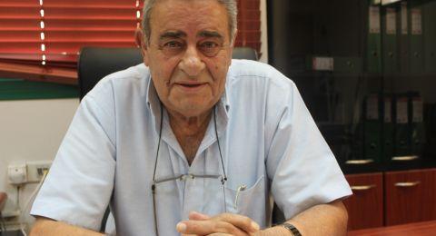 رئيس مجلس محلي البعينة نجيدات، صالح سليمان في ذمة الله