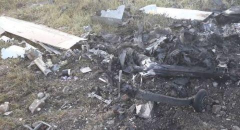 سقوط طائرة تجسس إسرائيلية بلا طيار جنوب لبنان