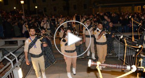 الناصرة: الآلاف يحيون الجمعة العظيمة وجناز المسيح