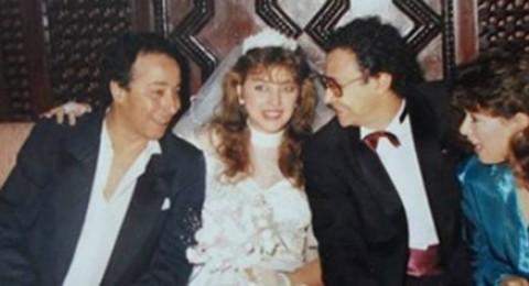 مراد منير ينشر صورة زفافه مع الراحلة فايزة كمال