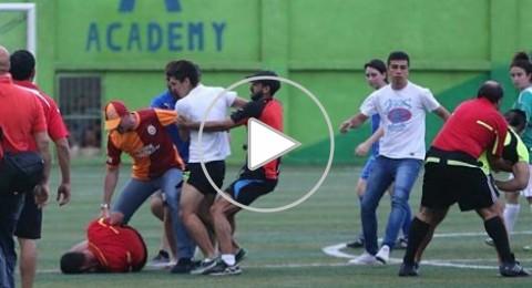 ضرب مبرح وإعتداء همجي على حكم في لبنان