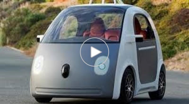 غوغل تصنع سيارة بدون عجلة قيادة