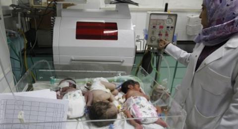وفاة رضيعين من غزة بسبب منع