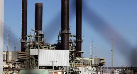 تشغيل المولد الثالث بمحطة كهرباء غزة