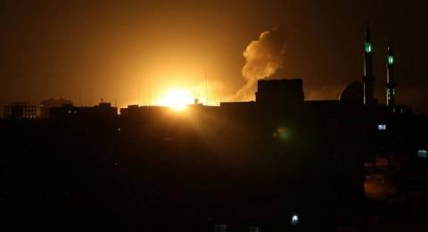 إسرائيل تقصف قطاع غزّة فجر ثالث أيام العيد، وحماس تعقّب: مخطط إسرائيلي