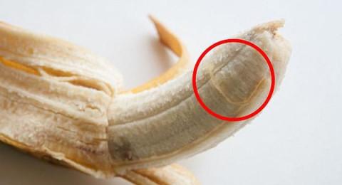لهذه الأسباب لا تزيلوا خيوط الموز!