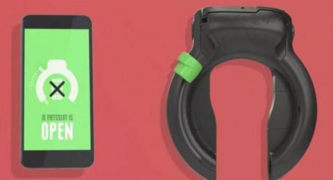 قفل ذكي يعطل الهاتف أثناء ركوب الدراجة الهوائية