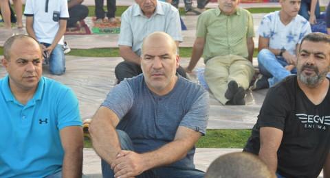 الطيبة: الألاف يشاركون في صلاة العيد