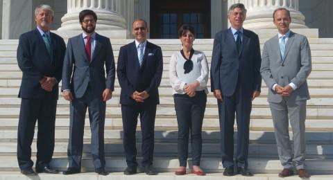سفير اسبانيا يزور حيفا ويهنىء بعيد الفطر