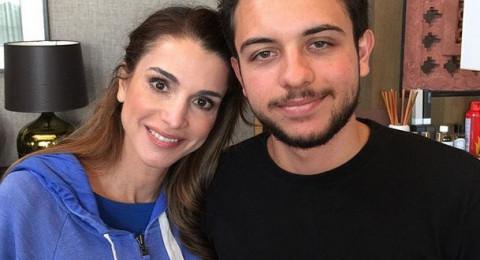 كيف احتفلت الملكة رانيا بعيد ميلاد ابنها الأكبر