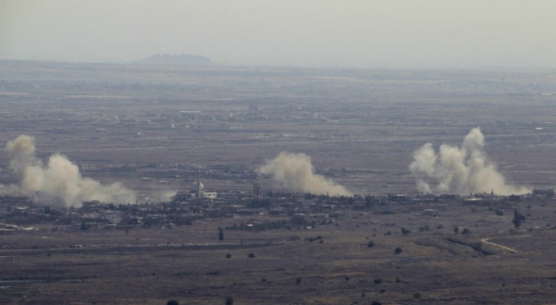 غارات اسرائيلية في الجولان، واستهداف شاحنة ذخيرة تابعة للجيش السوري
