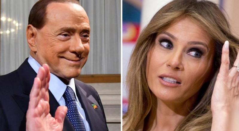 برلسكوني: أكثر ما يعجبني في ترامب ... زوجته