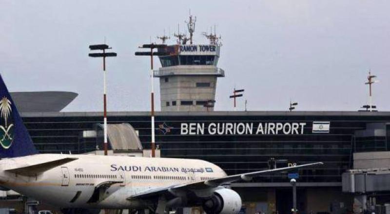 """السعودية تنفي هبوط إحدى طائراتها في """"تل ابيب"""""""