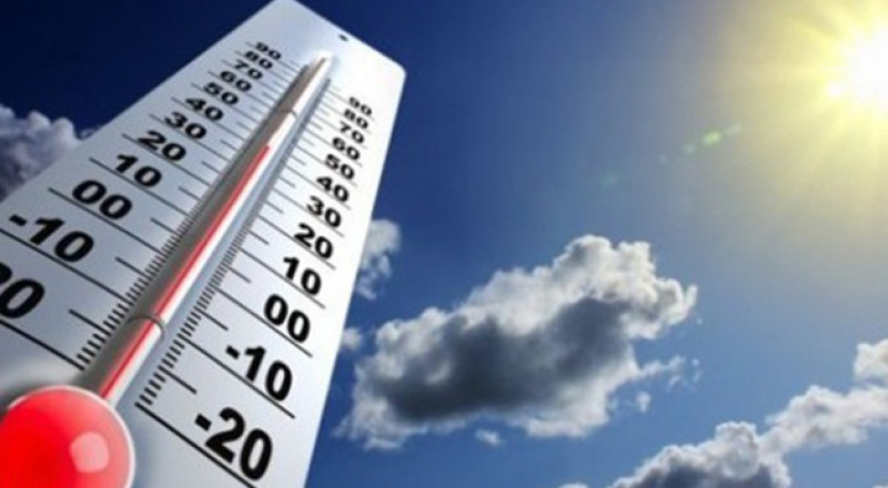 اليوم : الحرارة أعلى من معدلها السنوي العام بحدود 5 درجات