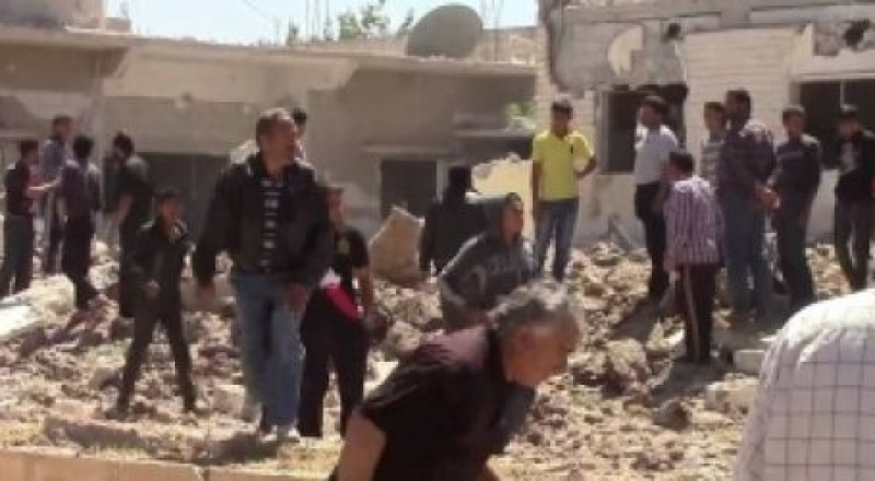النظام يشن غارتين جويتين على بلدة المزيريب جنوب سوريا