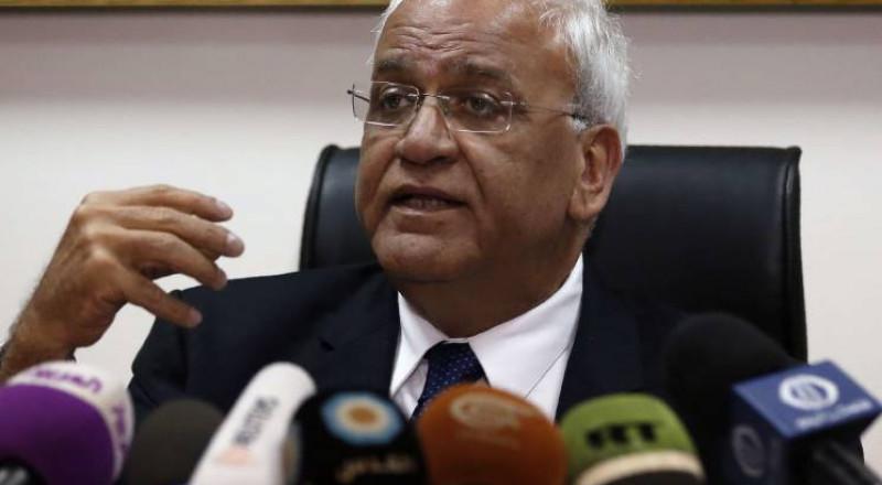 """إسرائيل تهاجم عريقات لرفضه اعتبار حماس والشعبية """"إرهابيتين"""""""