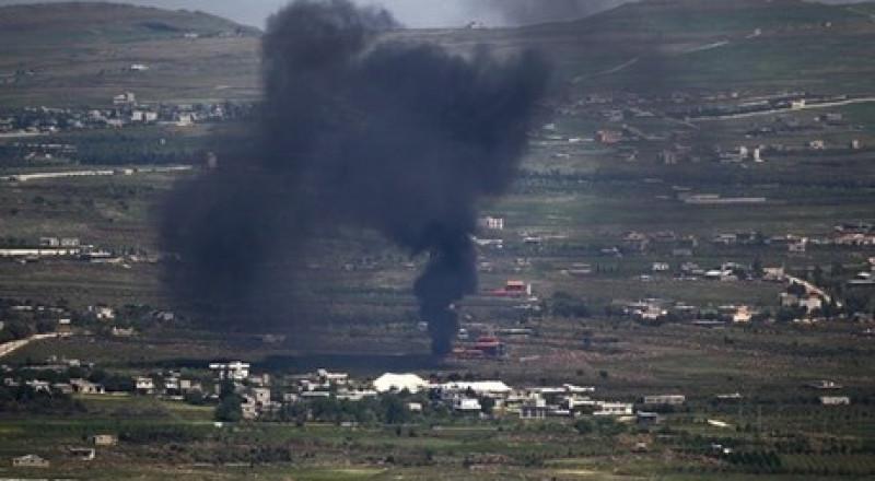 سقوط قذائف من سوريا على الجولان والجيش الاسرائيلي يقصف