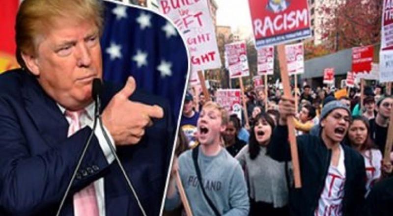 مظاهرات في ولايات أمريكية تندد بقرار الحظر