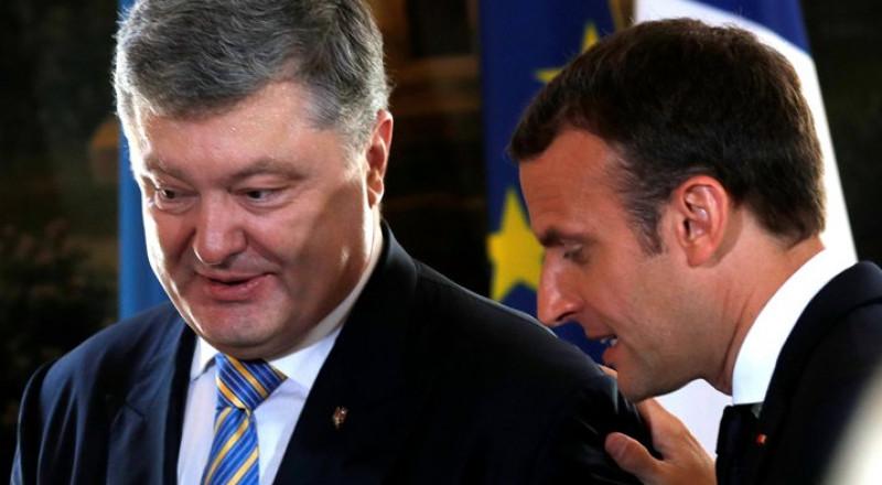 """ماكرون: فرنسا لن تعترف بضم روسيا لـ """"القرم"""""""
