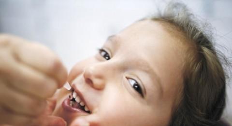 اكثر من نصف الاطفال تطعموا ضد البوليو