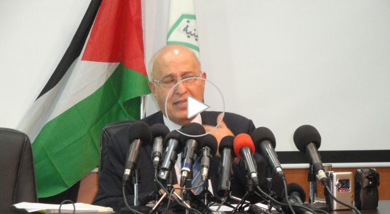 شعث: نتنياهو سخيف وعلى الرباعية إيضاح بيناها