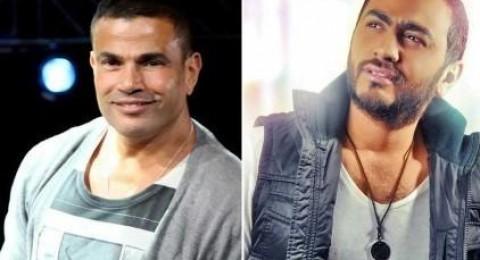 معركة بين جمهور عمرو دياب وجمهور تامر حسني.. ما السبب؟