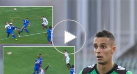 مهاجم جزائري يشعل الدوري البرتغالي بهاتريك وهدف رائع