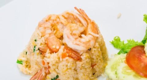 أرز الصيادية بالجمبري على الطريقة المصرية