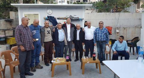 لجنة المبادرة العربية الدرزية تهنئ الأسير المحرر سمير السرساوي