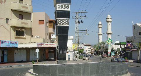 القاء قنبلة على محطة الشرطة في كفر قاسم