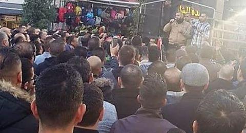 اعتصام مركزي وسط رام الله لإسقاط قانون