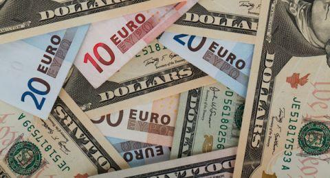 ارتفاع على اسعار صرف العملات