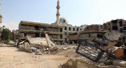 جميع منشآت الأونروا في مخيمي اليرموك ودرعا في سورية تضررت بشدة أو تم تدميرها بالكامل