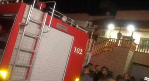 مصرع طفلين شقيقين في حريق شبّ بمنزل جنوب الخليل