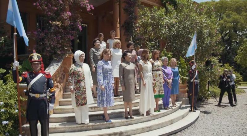 لقاء يجمع زوجات القادة على هامش قمة العشرين